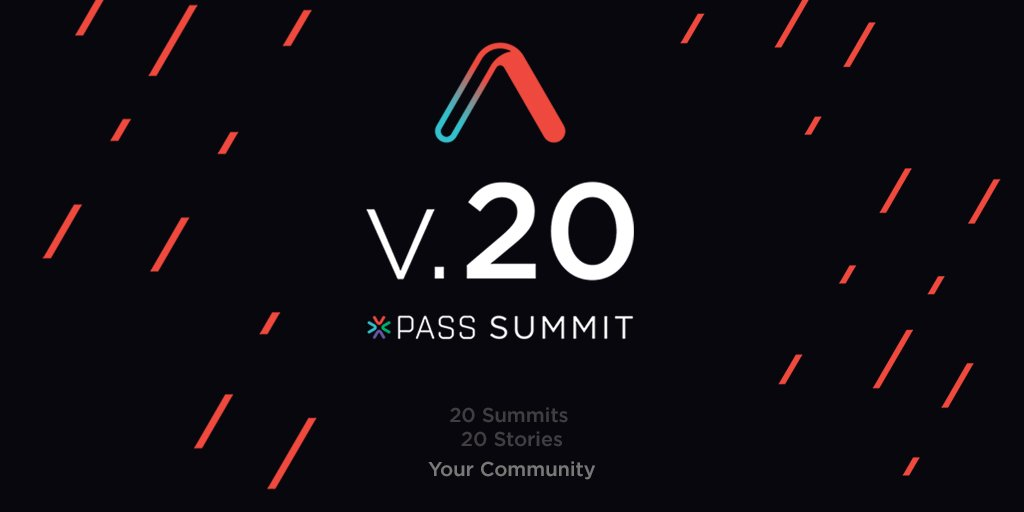 PASS Summit 2018: Where I'll Be