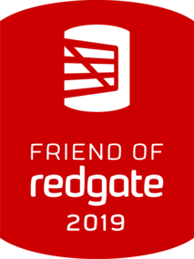 I'm a 2019 Friend of Redgate!