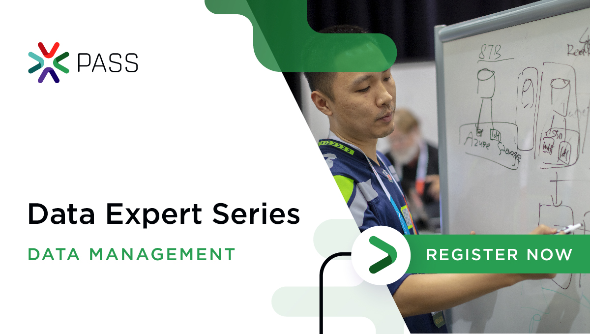 Join Me for PASS Data Expert Series!