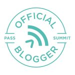 PASS Summit Official Blogger Logo