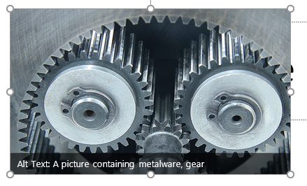 photo of planetary gears
