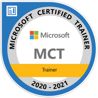 Microsoft Certified Trainer Badge