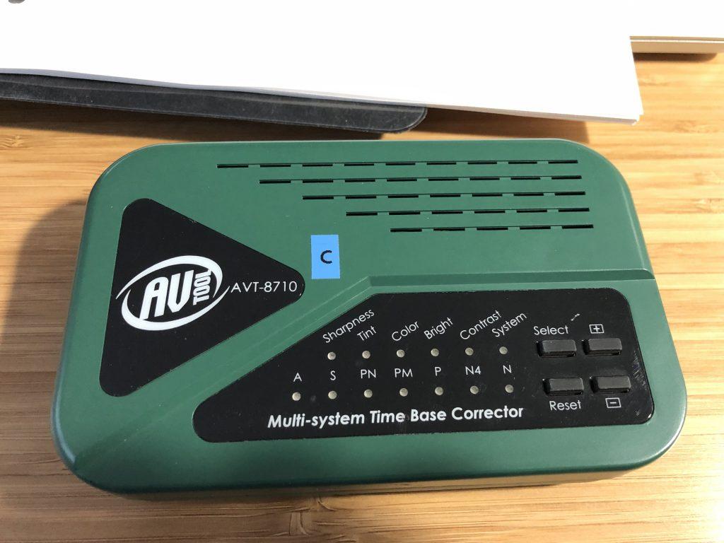 Photo of an AVToolbox AVT-8710 Time Base Corrector